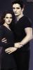 Image promotionnelle : Bella et Edward en entier.