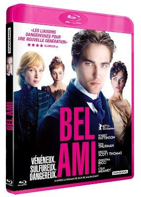 Visuels DVD-Blu-Ray français de Bel Ami avec Rob