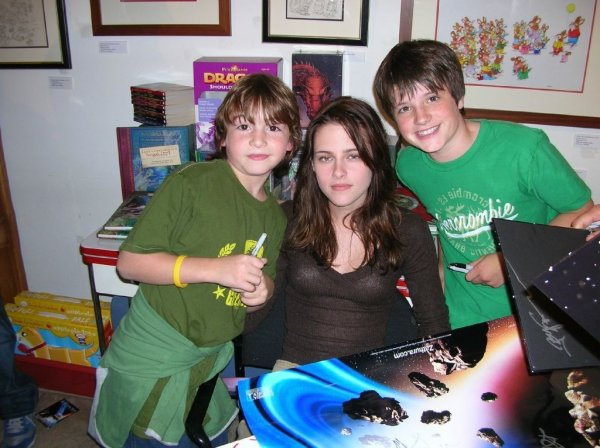[New/Old] Photo de Kristen Stewart en promo de Zathura