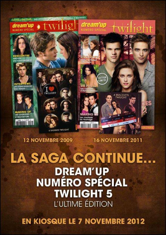 Dream'up prépare un nouveau numéro Twilight !
