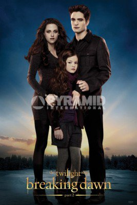 Nouveau poster de Breaking Dawn part 2