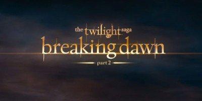 L'avant première mondiale de Breaking Dawn part 2 annoncée