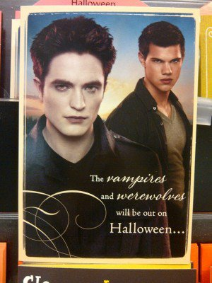 Nouvelle carte Halloween de Breaking Dawn part 2