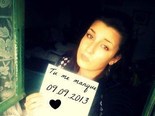 09.09.2013 tu me manque mon coeur <3