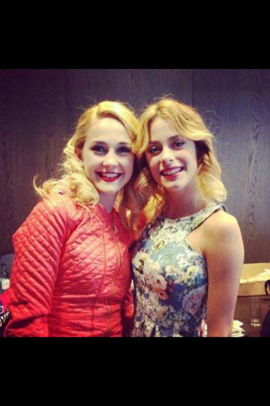 Les 2 blondes ;-)