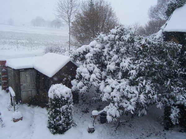 la normandie sous la neige