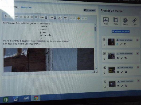 Comment je prépare un article !! (shooting chez moi)
