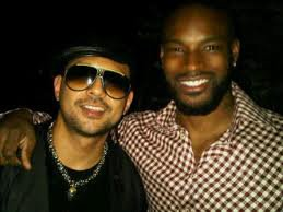 Sean Paul avec Tyson Beckford Super Model