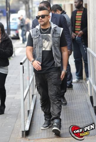 Sean Paul Photographed In London