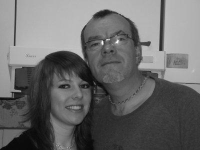 mon papa =) et moi =)
