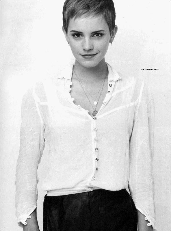 Nouvelle photo de Emma Watson dans le magazine japonais Anan.