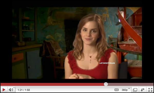 Nouvelles photos promotionelles d'Hermione dans Harry Potter et les reliques de la mort + Une vidéo où Emma apparait.