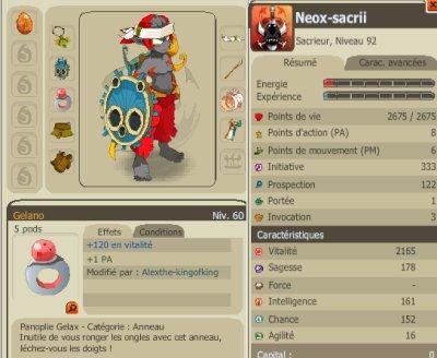 Présentation de Neox-Sacrii