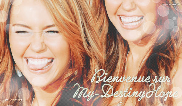 Miley Ray Cyrus. [ Création ; Texte ; Newsletter ]