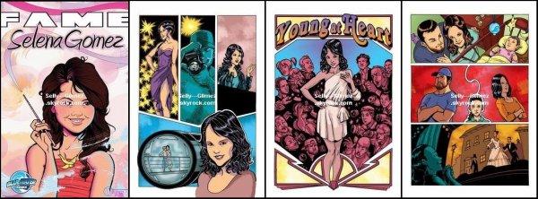 Nouvelles images du Comic Book spécial Selena Gomez