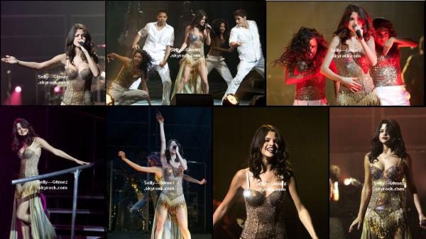 Selena a donné un concert à Chicago