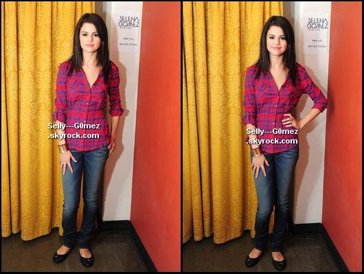 Photos de Selena dans les coulisses de son concert à Toronto