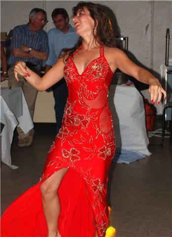 costume, robe de danse orientale taille 1, extensible! vendu 300£
