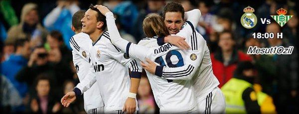 Real Madrid - Betis Séville : 32ème journée (20.04.13)