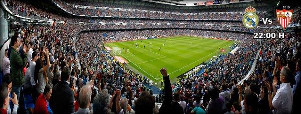 Liga : 11ème journée : Real Madrid - FC Séville (30.10.13)