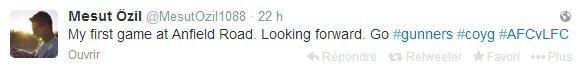 Twitter de Mesut (08.02.14)