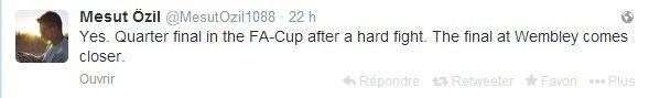 Twitter de Mesut (16.02.14)