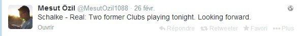 Twitter de Mesut (26.02.14)
