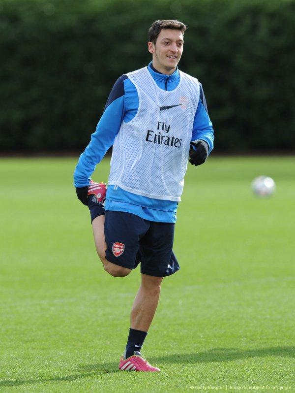 Photos de Mesut à l'entraînement (29.02.14)