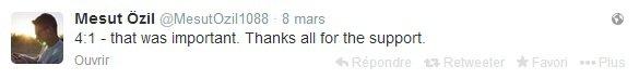 Twitter de Mesut (08.03.14)