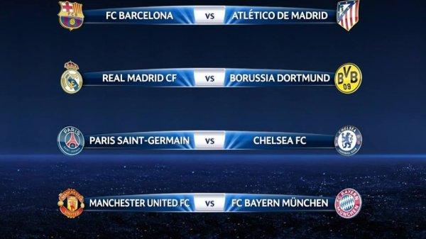 Ligue des Champions : Quart de Finale (21.03.14)