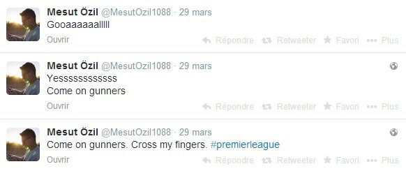 Twitter de Mesut (29.03.14)