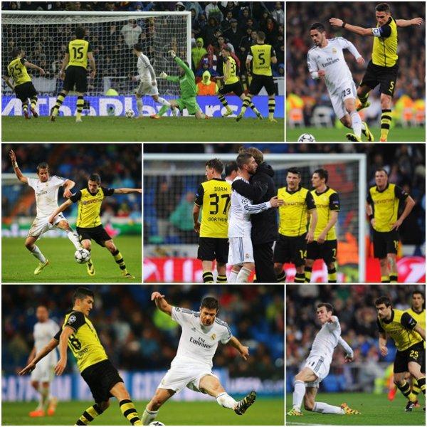 Ligue des Champions : Quarts de Finale : Real Madrid - Borussia Dortmund (02.04.14)