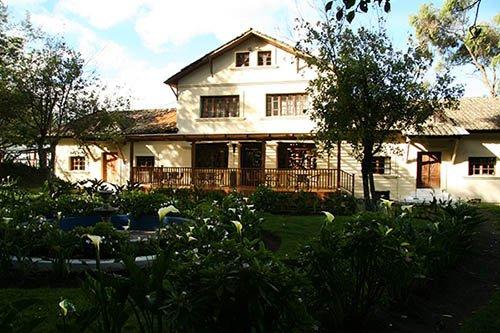 Colonial Hacienda near Cotopaxi Volcano