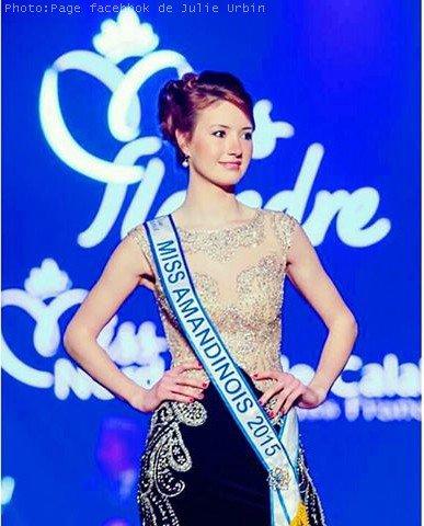Julie Urbin, Miss Amandinois 2015