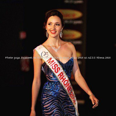 Maëva Durand, Miss Beaujolais et Miss Rhône 2016