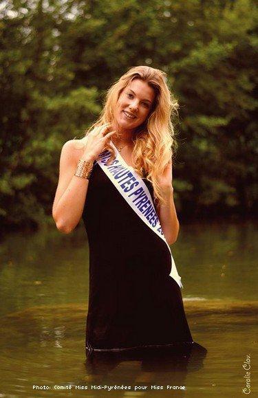 Léna Caussade, Miss Hautes-Pyrénées 2016