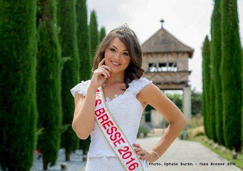 Ophélie Burtin, Miss Bresse 2016