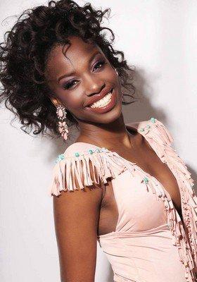 Rokhaya Ndiaye, candidate Miss Mayotte 2017