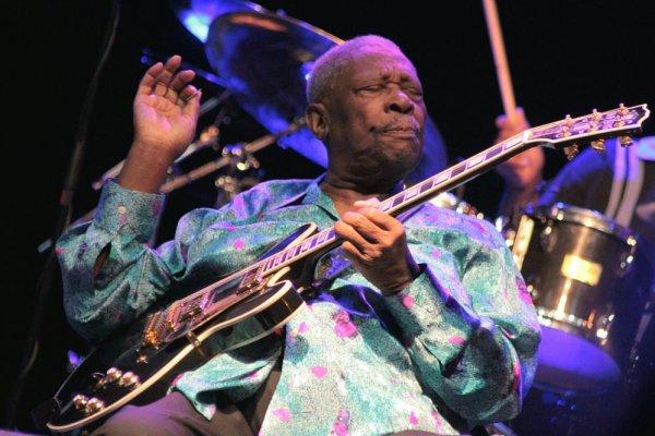 B.B. KING, Gent Jazz Festival, 9. juillet 2011