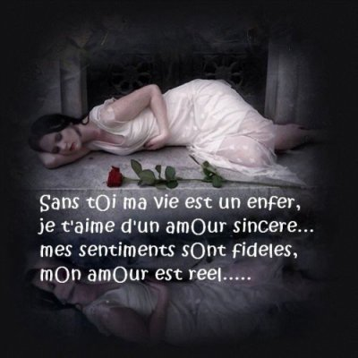 image amour sincere