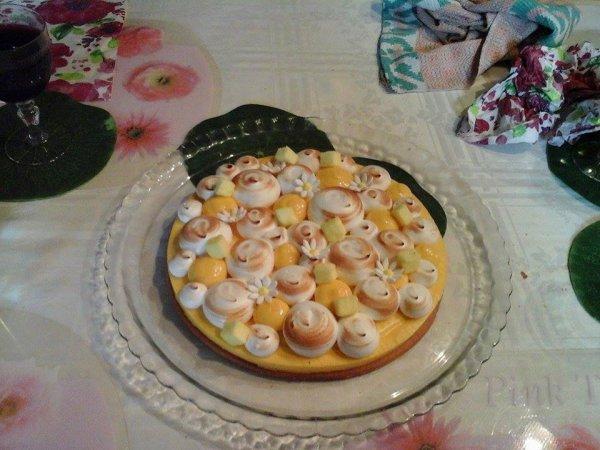 tarte au citron!