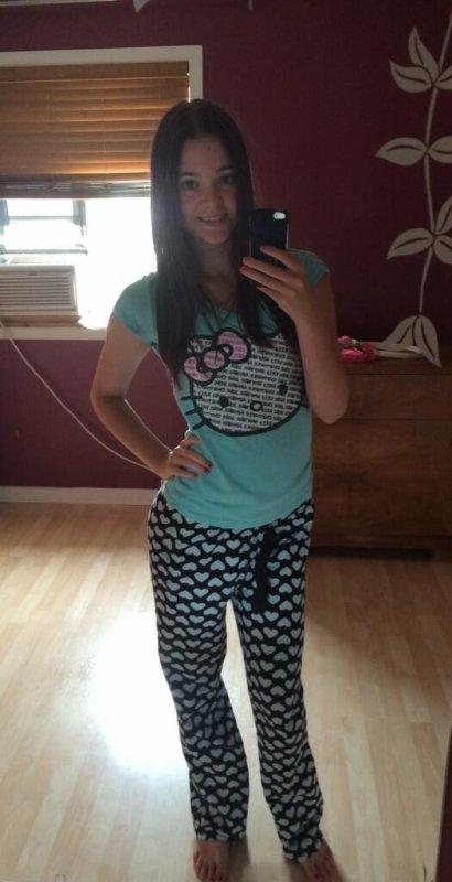 Dans mon petit pyjama ! :)