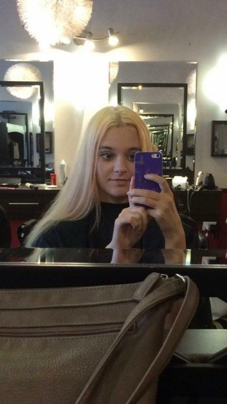 Fini la couleur blonde :P