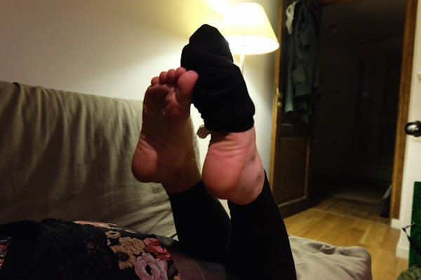 Mes pieds (je chausse du 38)