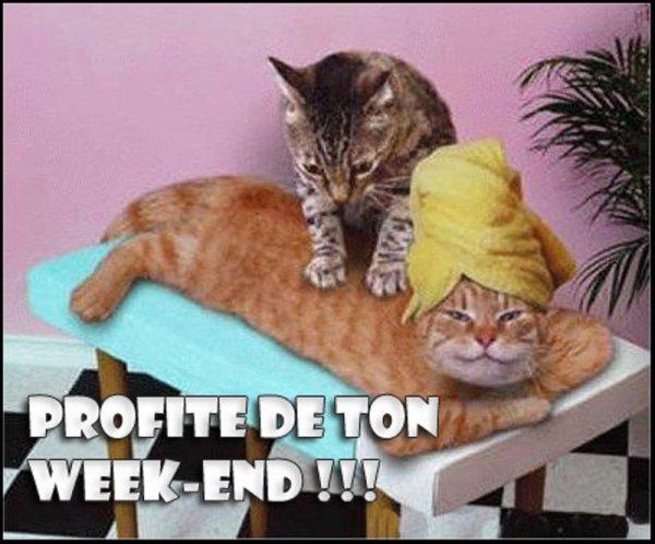BON week-end ..👍👍..😉!!!.