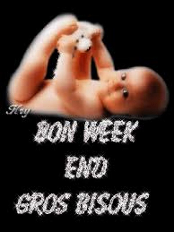 BON week-end ..🌷🌺🌹..