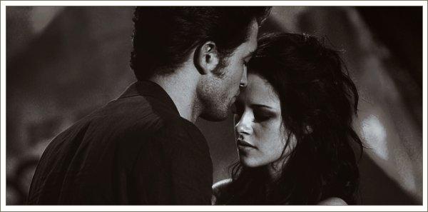 « C'est moi qui tient le plus à toi, parce que si j'arrivais à m'éloigner de toi, si partir était la solution,  je serais prêt à souffrir pour t'éviter de souffrir ... de mourir. »___Edward Cullen の Welcome.