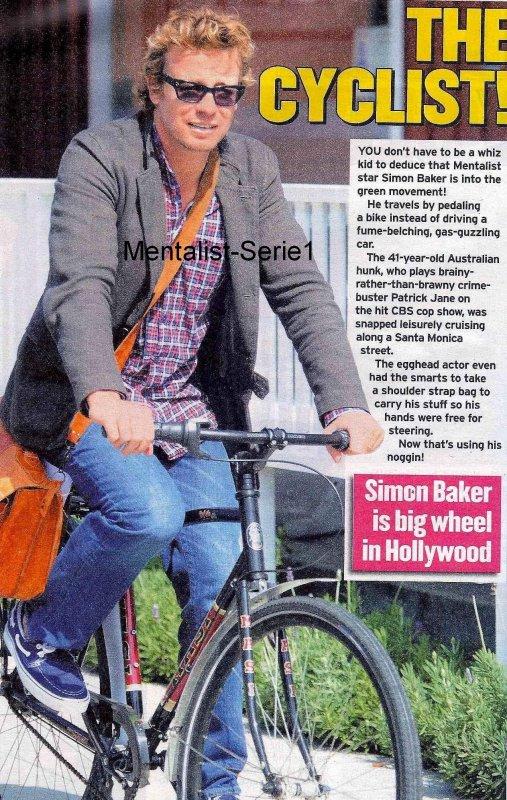 Simon Baker le 11 Octobre