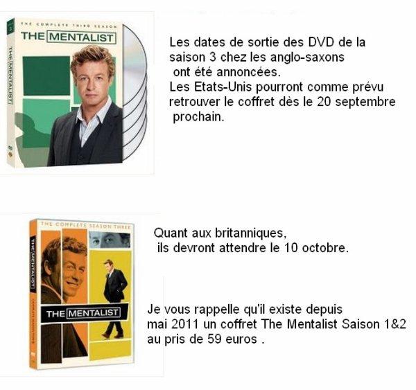 Mentalist en DVD News