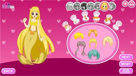 Mermaid Melody - Dress Up!